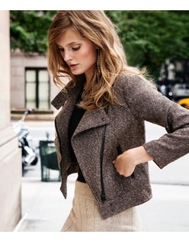 куртка-косуха из твида