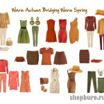 теплая весна гардероб