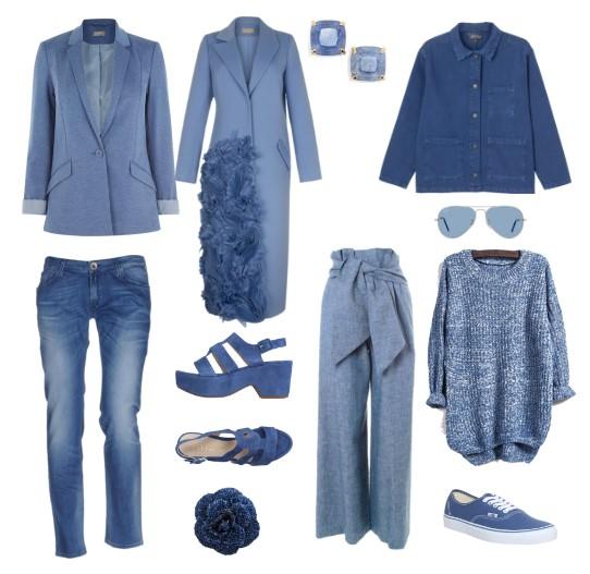 речной синий