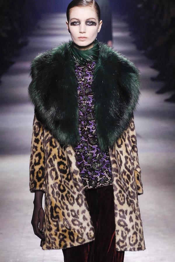мода леопард